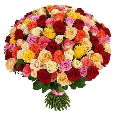 Зображення 51 троянда мікс